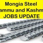 Mongia Steel Jammu Jobs.