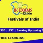 Festivals of India. JK Exams Guide.