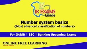 Number system basics (Most advanced classification of numbers)