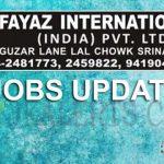 Fayaz International Srinagar Jobs.