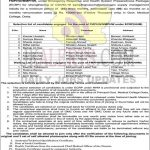 GMC DODA Selection list of FMPHW/MMPHW.