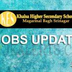 Khalsa Higher Secondary School Jobs
