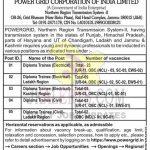 POWERGRID jobs recruitment for various positions in J&K, Ladakh, HP.
