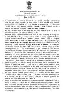 JK Covid 19 Update 28 June 2021.