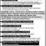 Jammu Motors Jobs Recruitment 2021.
