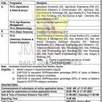 SKUAST Jammu Admission 2020-21. Ph.D. CET.