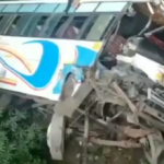 Vaishno Devi pilgrims injured after bus rolls down into gorge Several Mata Vaishno devi Devotees were injured when a Passenger Bus which was on its way to Katra From Jammu