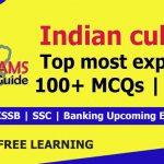 Indian culture | JKSSB most expected 100+ MCQs Part 1.
