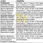 Bhargava Group of Colleges Jobs Recruitment 2021. | Professors, Associate Professors, Assistant Professors positions | last date 10.10.2021.