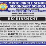 Minto Circle School Srinagar Jobs