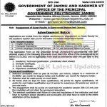Govt Polytechnic Jammu Jobs