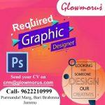 Graphic Designer job in Glowmorus Jammu.