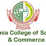 Islamia College of Science & Commerce Date sheet.