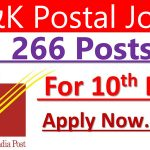 J&K Postal Circle Jobs Recruitment 2021 266 posts.