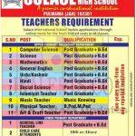 Solace International School Pulwama Jobs Recruitment 2021