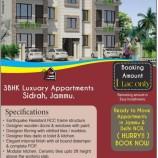 36HK Luxuary Appartments Sidrah, Jammu J&K