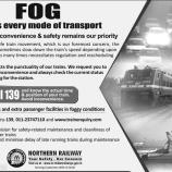 NORTHERN RAILWAY JAMMU NOTIFICATION