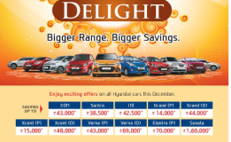 Hyundai December Delight Offer