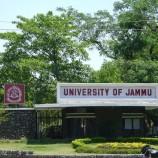 Jammu University BBA and OC&MIL Date Sheet