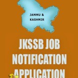 """SERVICES SELECTION BOARD """"Junior Assistant"""" (CAPD, Department), Divisional Cadre Jammu Typing test notifcation"""