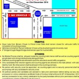 Traffic advisory for election counting day in Jammu