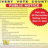Every Vote Counts Public Notice