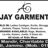 Latest Sale in Jammu on Ladies Cardigan, Kurtis, Jackets, Plazzo Ajay Garments
