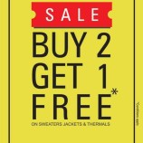 Duke sale Buy 2 Get 1 Free offer on Jackets, Sweaters and Thermals