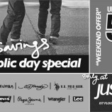 Justblues, Just Saving Republic day special offer (Weekend Offer)