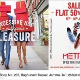 Sale on Metro Shoes , Flat 50% Off
