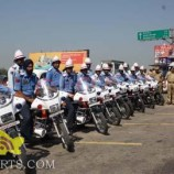 Traffic Police arrangements on the eve of Republic Day 2015