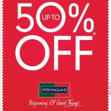 Sale upto 50% off on Peter England