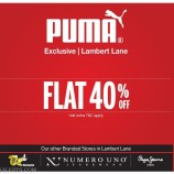 Puma Sale in srinagar, Flat 40% off