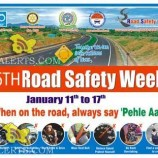 26th Road safety week 2015 celebrated in Jammu and kashmir