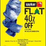 Latest Sale on Spykar Flat 40% Off
