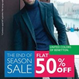 United Colors of Benetton Sale Flat 50% off