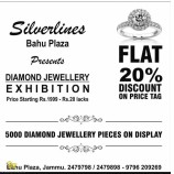 SILVERLINES FLAT 20% DISCOUNT ON PRICE TAG