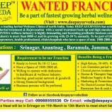 DEEP AYURVEDA WANTED FRANCHISE