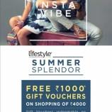 lifestyle  SUMMER SPLENDOR offer in wave mall