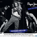 LATEST OFFER ON PEPE JEANS