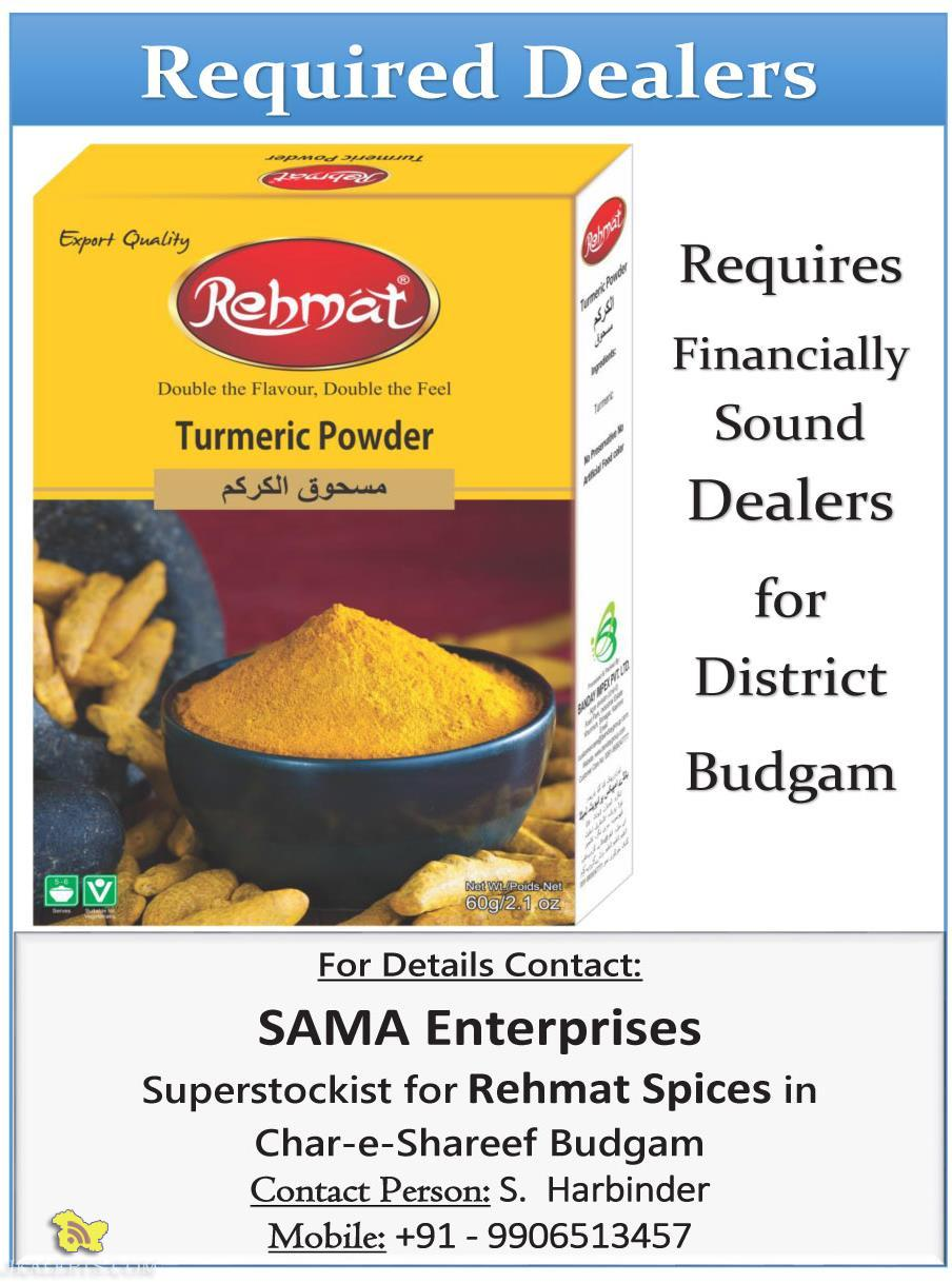 Rehmat Requires Financially Sound Dealers for District Budgam