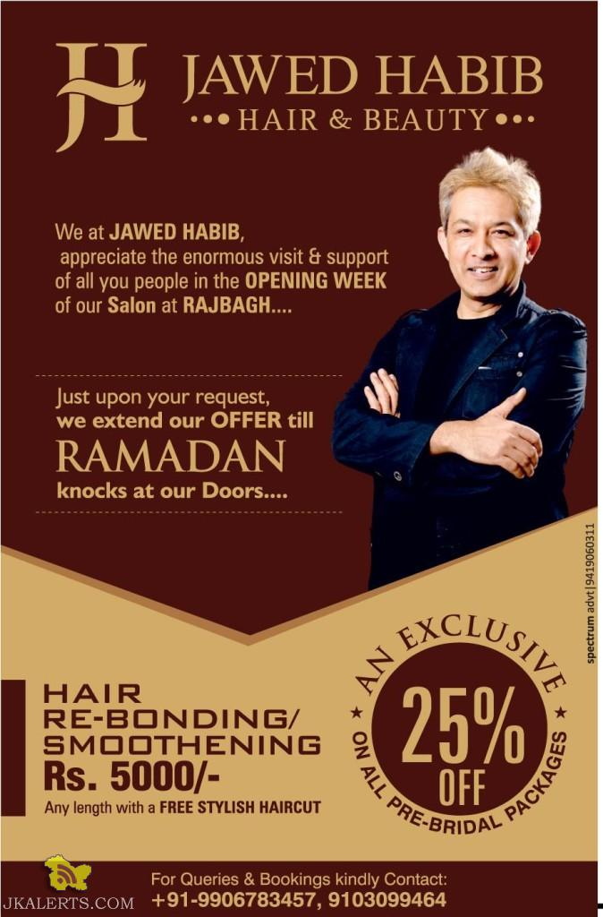 Jawed habib haircut rates haircuts models ideas for X salon mulund rate card