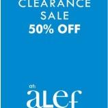 STOCK CLEARANCE SALE IN SRINAGAR AT Alef