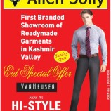 Eid Special Offer, End of Season Sale on Allen Solly, Discounts Readymade Garments