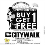 Monsoon sale in Citywalk on Ladies Gents and Kids Footwear