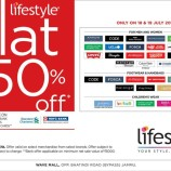 Sale on lifestyle Flat 50% off