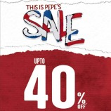 Special offer on Pepe Jeans, Latest deals discounts Sale in Wave mall