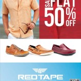 RedTape Flat 50% Sale on Shoes