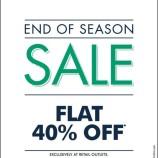 End of Season Sale on Indian Terrain, Flat 40% off