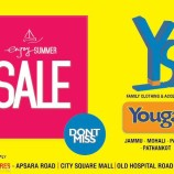 Yougal Sons Summer sale in City Square Mall, Gandhi Nagar